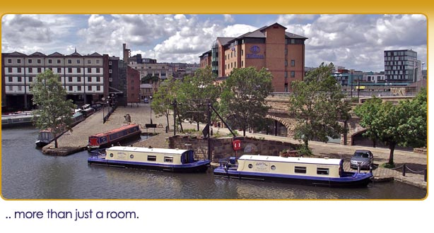 Houseboat Hotels on Victoria Quays Sheffield